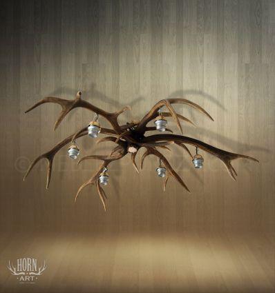 """Żyrandol """"pająk"""" na 6 żarówek 01.121"""