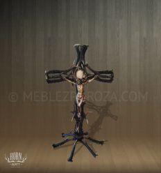 krzyż z poroża jelenia