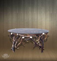 stolik z poroża elipsa
